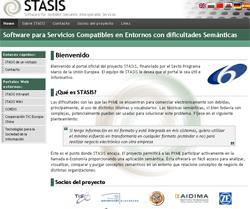 Página web del proecto STASIS