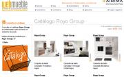 El catálogo de mobiliario para baño de Royo Group en Webmueble