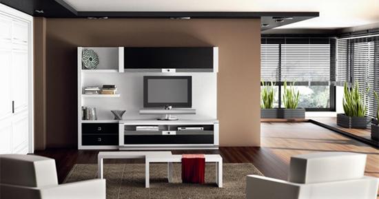 Itaka, la nueva composición modular para salón de Líneas Taller de Muebles