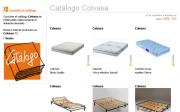 Una muestra del catálogo de Colvasa disponible en Webmueble