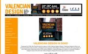 Captura de pantalla de la web de 'Valencian Design'