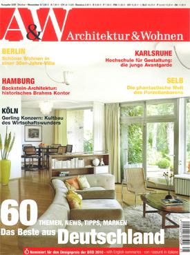 Portada de Architektur & Wohnen
