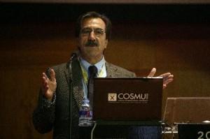 D. Emilio Ontiveros ha participado en todas las ediciones de COSMU, Congreso Internacional del Mueble y del Hábitat.