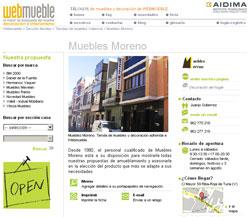 Muebles Moreno en Webmueble