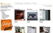 Catálogo de Úbeda y Rico en Webmueble