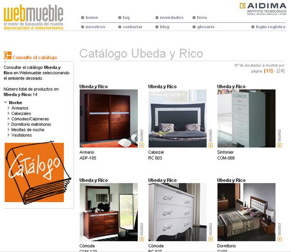 Cat logo de beda y rico disponible en webmueble - Habitat muebles espana ...