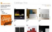 Catálogo de Vive disponible en Webmueble