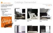 Catálogo de Gamamobel visible en Webmueble