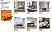 Dormitorio TEMPO de Muebles Ramis en Webmueble