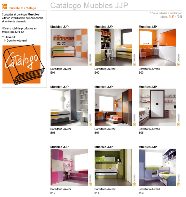 Dormitorios juveniles jjp cunas dormitorios juveniles - Mundo joven muebles catalogo ...