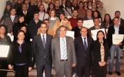 Alumnos de anteriores ediciones de los cursos para emprendedores