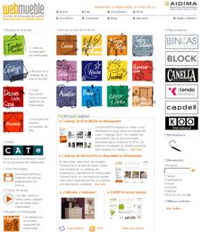 Webmueble (www.webmueble.es) acaba de cumplir un año de vida online