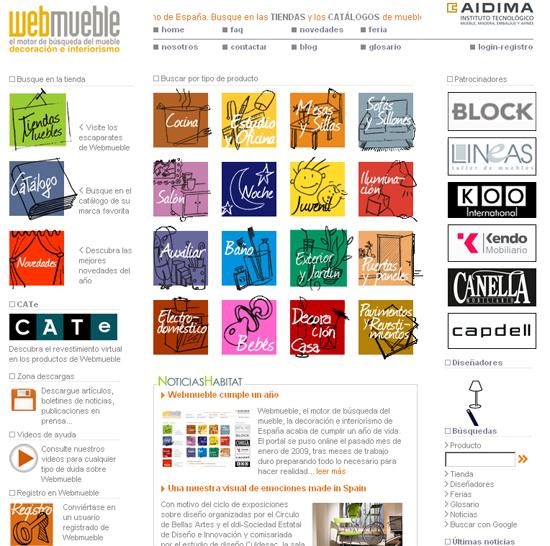 NUevas ambientes disponibles muy próximamente en Webmueble: Electrodomésticos, Bebés y Pavimentos y revestimientos