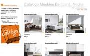 Catálogo de dormitorios de matrimonio de Muebles Benicarló en Webmueble