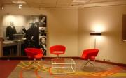 Planta 50ª del edificio Justus Lipsius en Bruselas con el mobiliario de Sancal y Andreu World