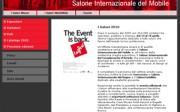 Página web de Saloni Milano