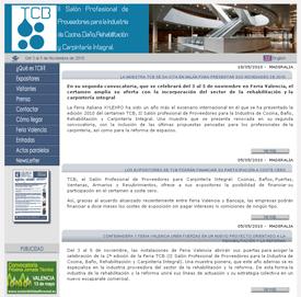 Página web de la Feria TCB