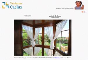 Ventanas Caelux - Carpintería Casino