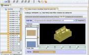 Visor de geometría 3D con texturas asociadas