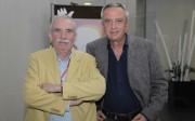 Foto: Santiago Miranda y Perry King en CIPAI – FERIA HABITAT VALENCIA