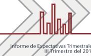 """""""Informe de Expectativas III Trimestre"""""""