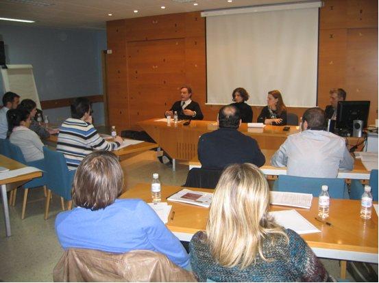Mesa redonda en la que participaron las empresas POINT Nature & Livestyle, SANCAL Diseño, S.L. y SpainConcept.
