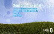 Orsal Officestyle supera el Certificado de Calidad de Medioambiente