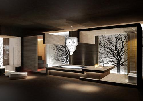 Aetherea Private SPA, del Studio Bizzarro&Partners
