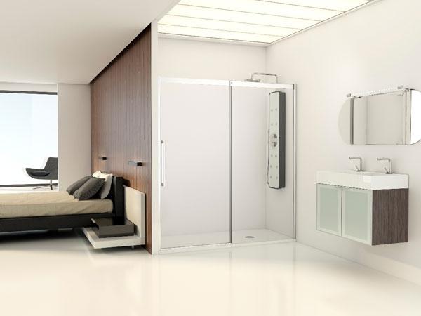 Amplitud y transparencia inspiran los nuevos baños PROFILTEK