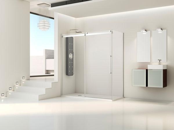 Moon, la estética industrial salpica los espacios de baño