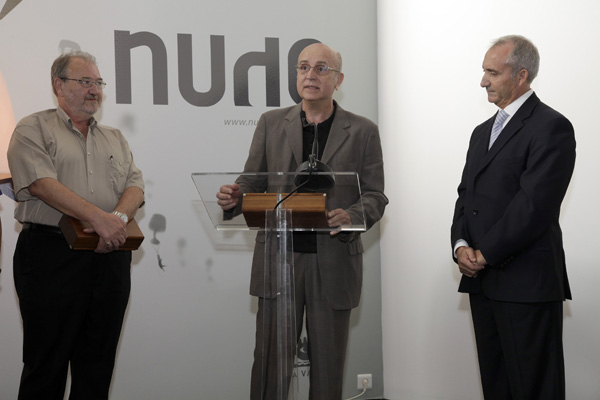 nude homenajea a Vicent Martínez y Florencio Pérez en Feria Hábitat Valencia