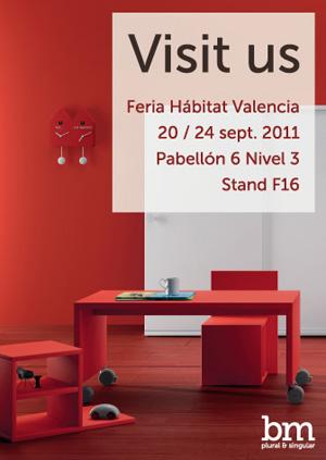 Bm muestra sus nuevos diseños en Feria Hábitat Valencia