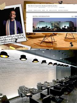 El sillón Arrop de Ziru, elegido para amueblar el restaurante del Hotel Ritz Carlton