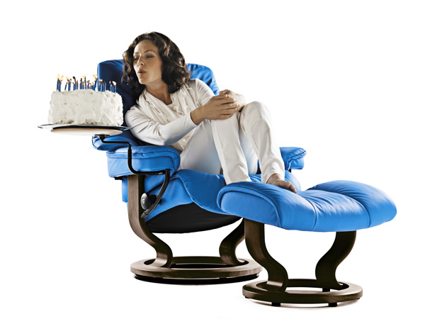 Confort… ¿Quiere usted decir Stressless?