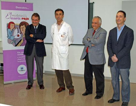 Presentación de un cuento infantil de PayaSoSpital con el apoyo de Micuna y otras empresas y entidades Valencianas