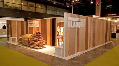 El stand de Blanquer en FIMMA-MADERALIA 2011, uno de los más aclamados en esta edición de la Feria