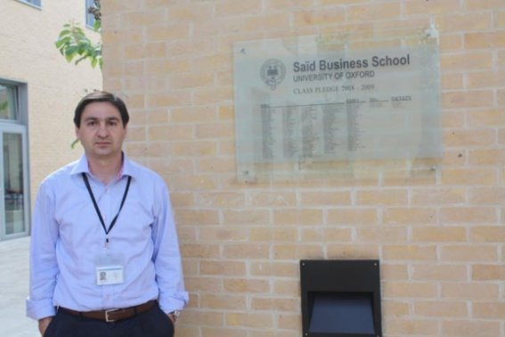 J. Javier Iborra en la Saïd Business School de Oxford University