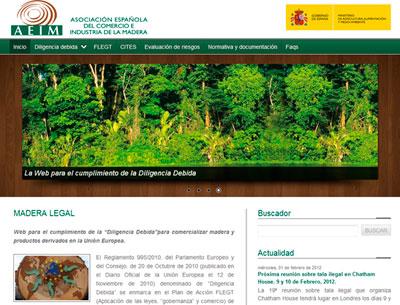 Portada de maderalegal.info