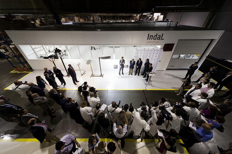 Philips reconoce la tecnología led de Indal, I+D en iluminación 2