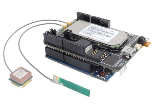 Sensor desarrollado para aplicaciones de geolocalización