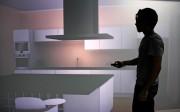La investigación está desarrollando un sistema virtual de inmersión en cabina avión, similar al que aparece en el escenario virtual de la imagen preparado para una vivienda (sólo visible en 3D para el usuario).