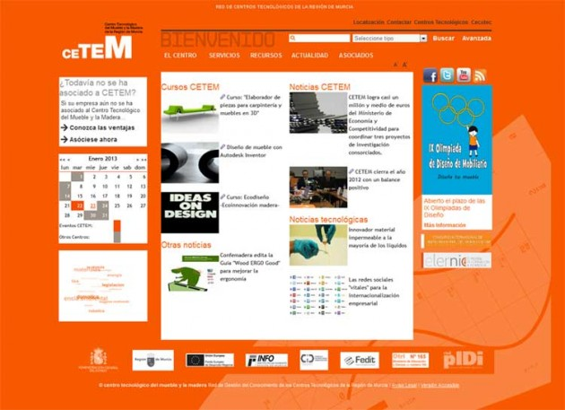 Website CETEM