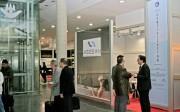 Estand de AIDIMA que compartió con la Asociación Española de Fabricantes de Equipamiento de Baño, ASEBAN, en la presente edición de CEVISAMA 2013.