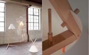 Lámparas de Nicole Schindelholz fabricadas según la tradición japonesa del ensamblaje de madera. Fotografía: Nicole Schindelholz.. FUENTE: Observatorio de Tendencias del Hábitat.