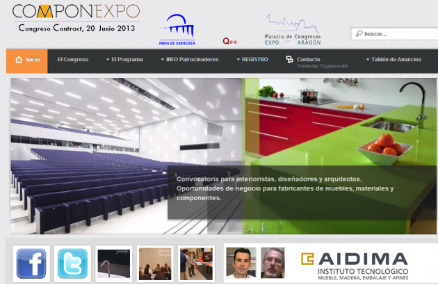 Congreso Contract Componexpo AIDIMA