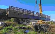 Puente construido en Madera