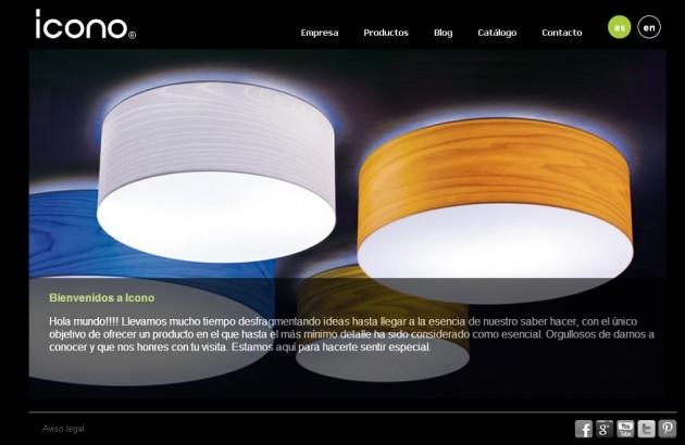 Icono lamparas diseño