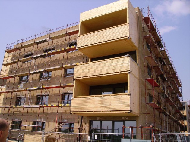 Viviendas construcción en madera