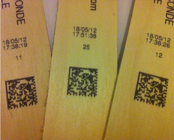 marcado madera igorle