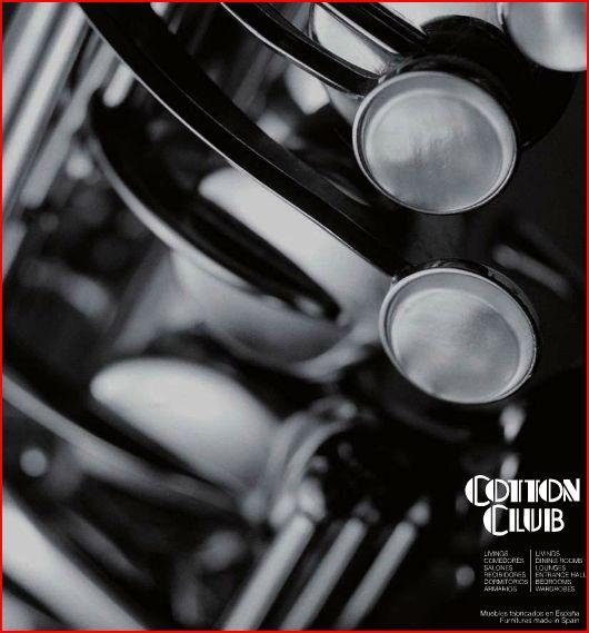 Portada Catálogo Cotton Club CG